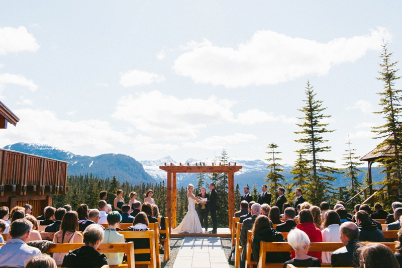 Mount Washington Wedding Ceremony